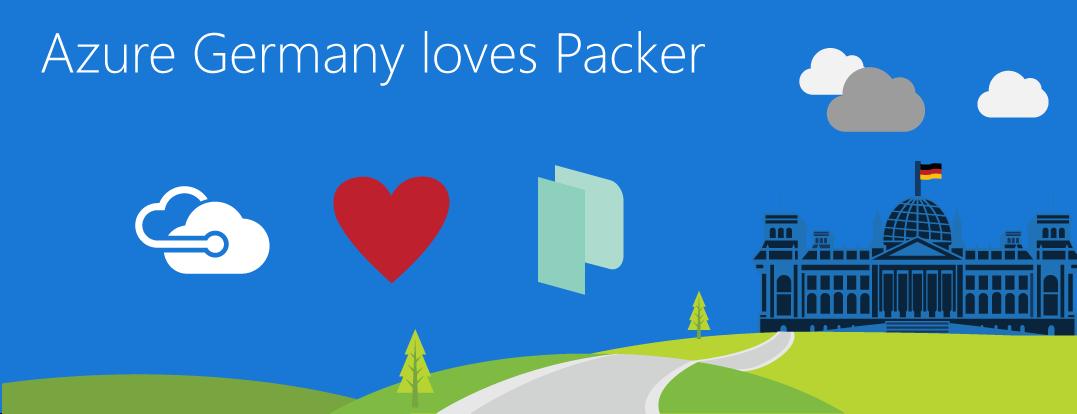 Microsoft Azure Germany loves packer io